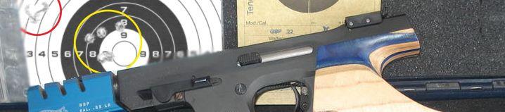 Resultados competición Precisión 9mm 13/01/2019