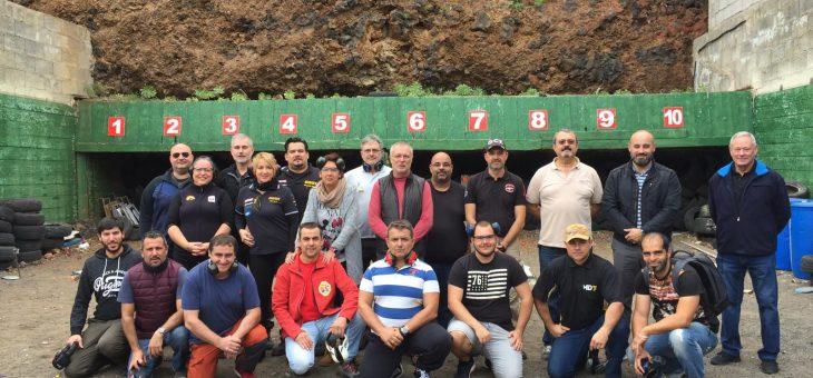 Visita del Concejal de deportes D. Aridany Romero